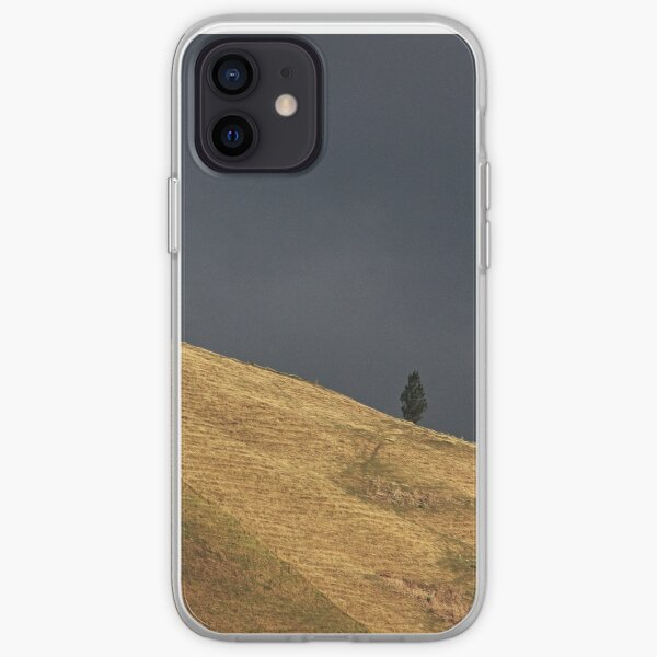 Dark sky shoulder iPhone Soft Case