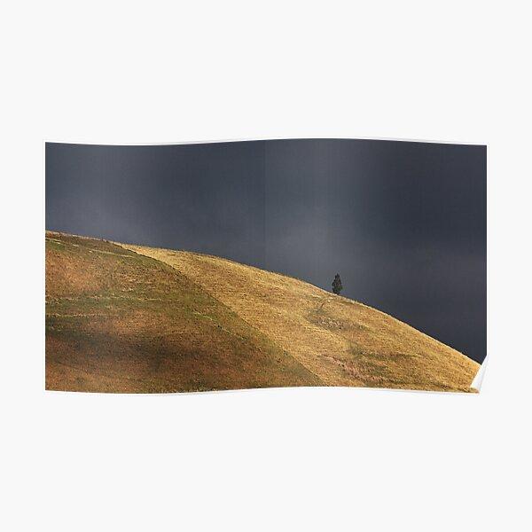 Dark sky shoulder Poster