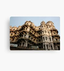 Heritage building, Calcutta,India Canvas Print