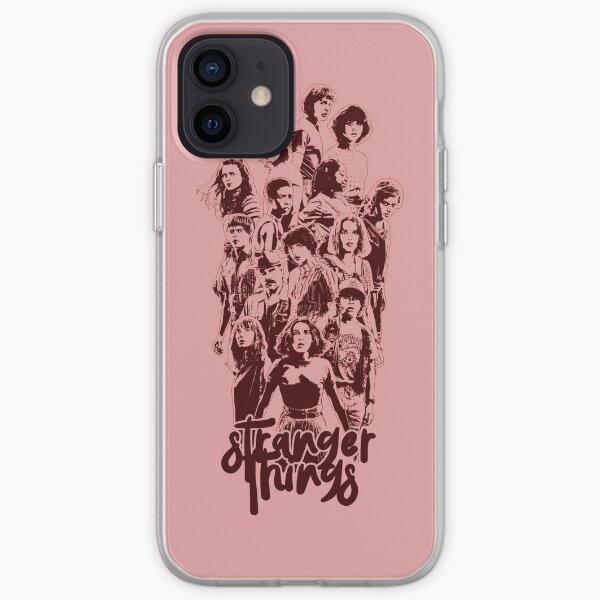 3 fois étranger Coque souple iPhone