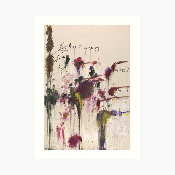 Cy Twombly - Four Seasons Lámina artística