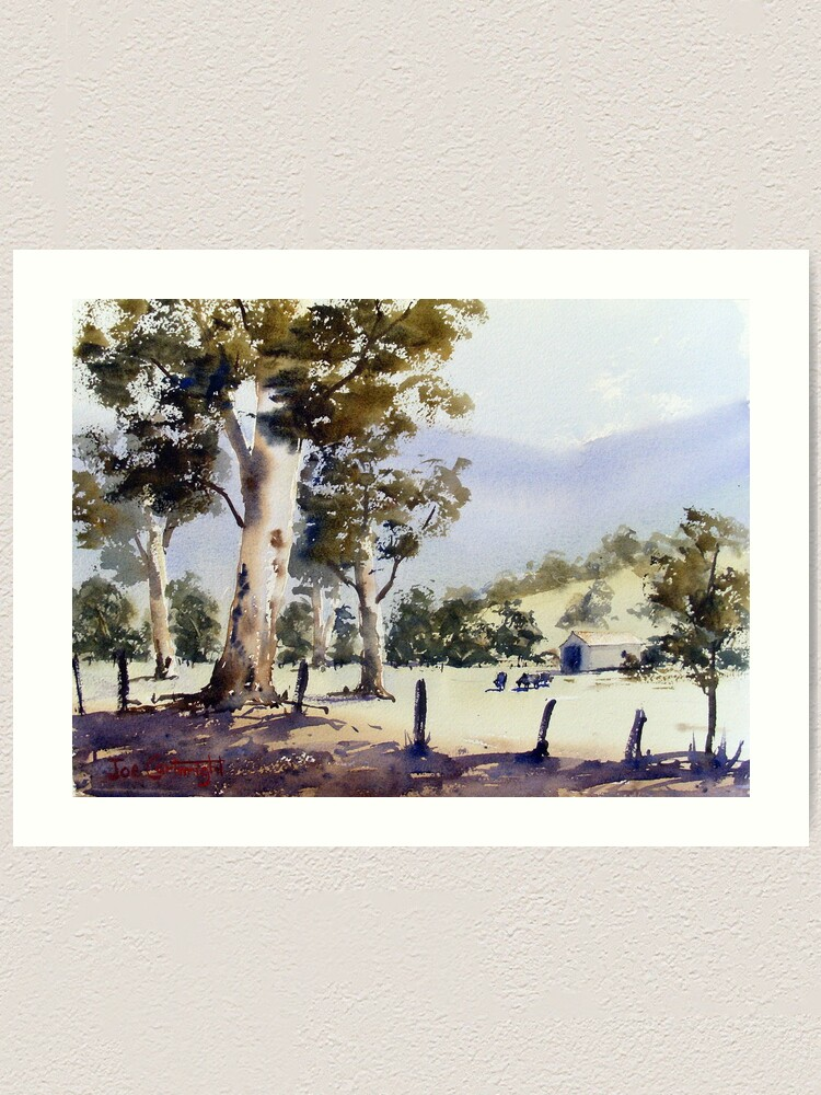 Alternate view of Road to Dunn's Swamp, NSW Art Print