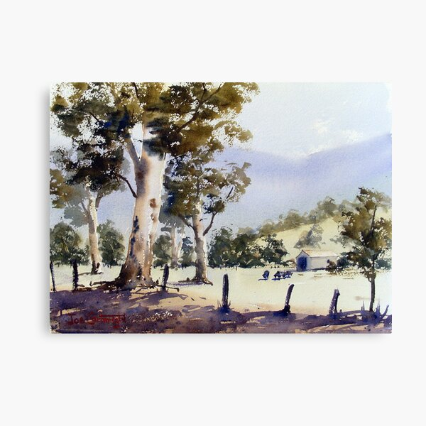 Road to Dunn's Swamp, NSW Canvas Print