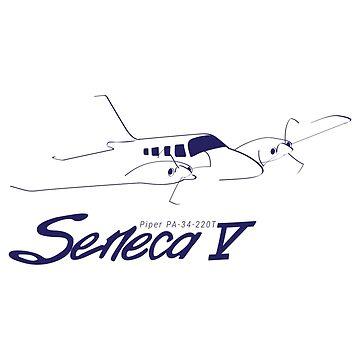 Piper Seneca V by Downwind