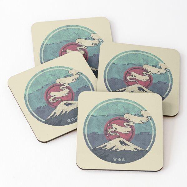 Fuji Coasters (Set of 4)