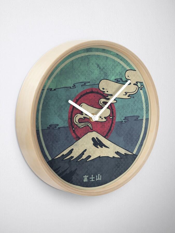 Alternate view of Fuji Clock