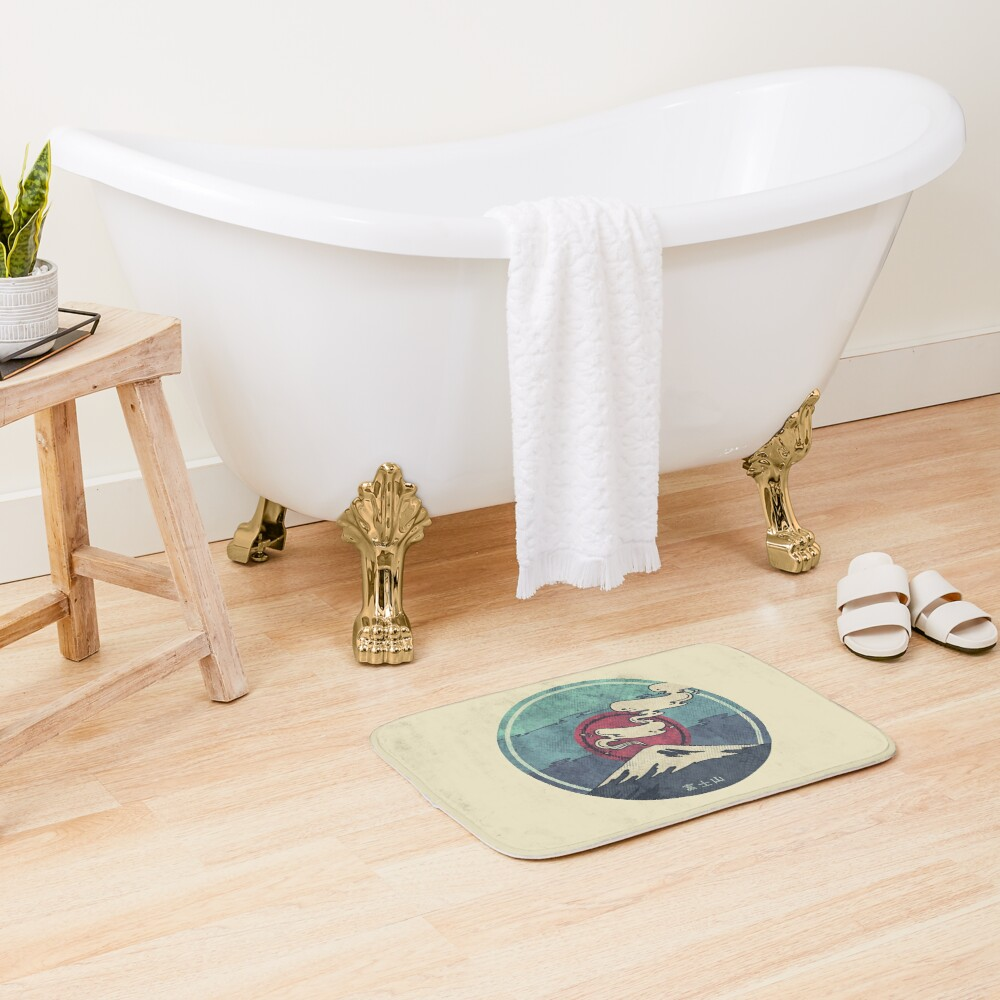 Fuji Bath Mat