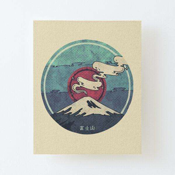 Fuji Canvas Mounted Print