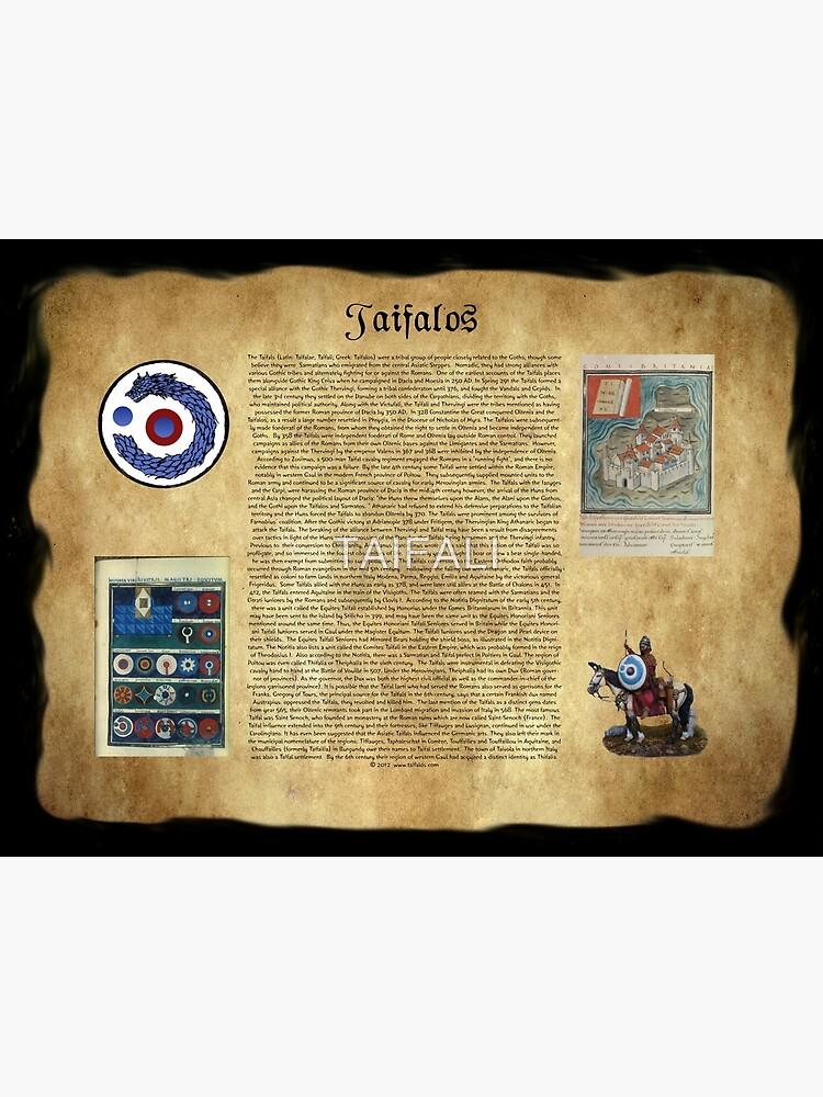 Taifalos Heraldic Wall Banner by TAIFALI