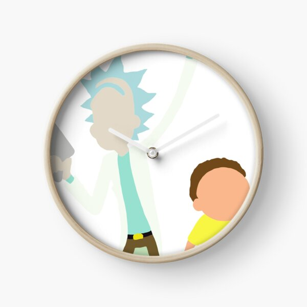 Rick and Morty Clock