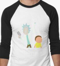 Rick and Morty Baseball ¾ Sleeve T-Shirt