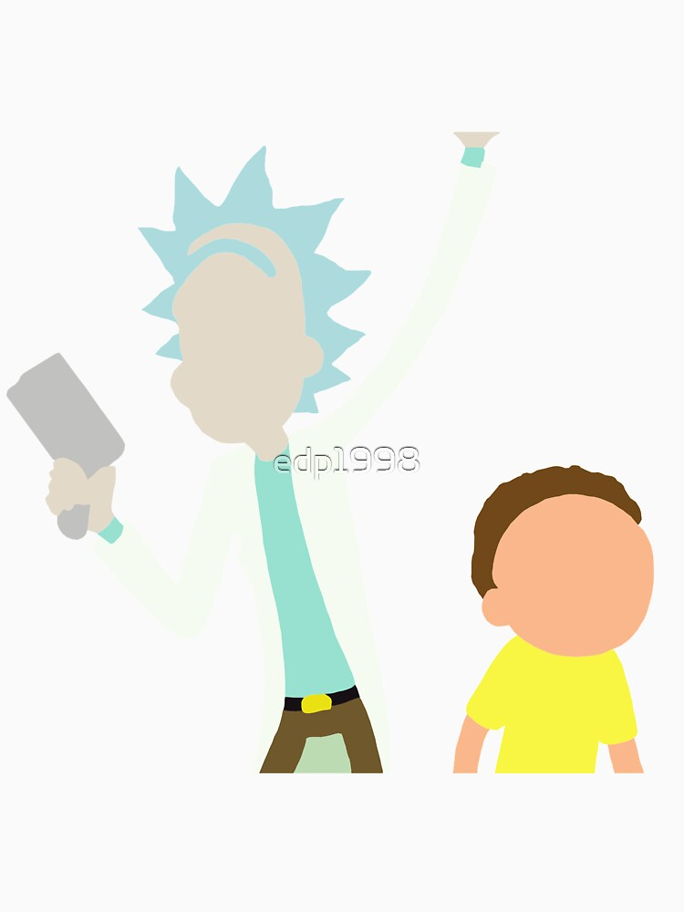 Rick and Morty by edp1998
