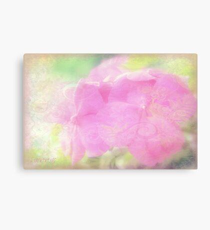 Enchanted garden 2 Canvas Print