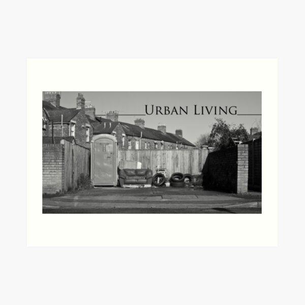 Urban Living Art Print