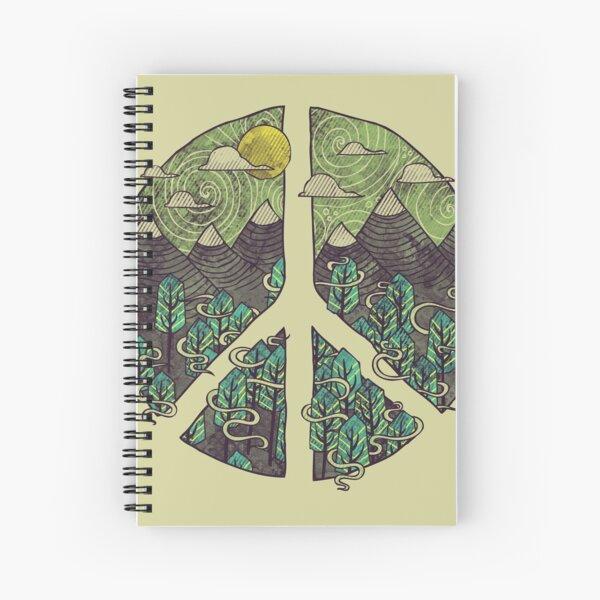 Peaceful Landscape Spiral Notebook