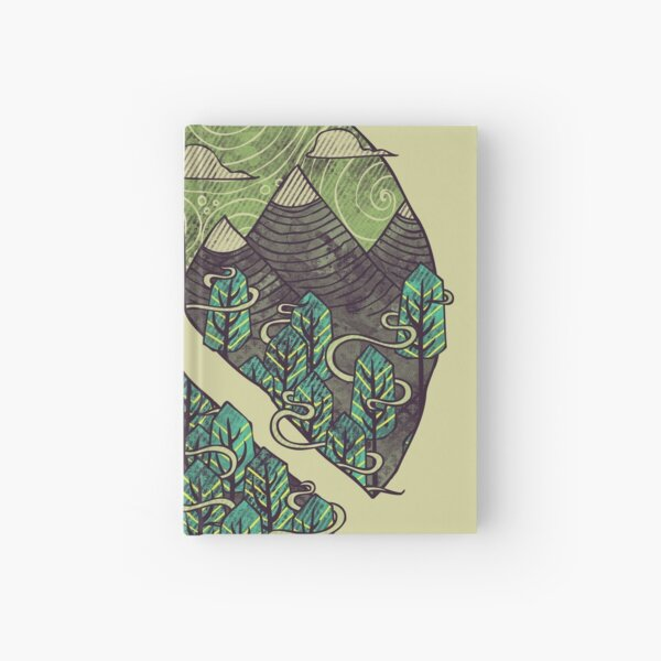 Peaceful Landscape Hardcover Journal