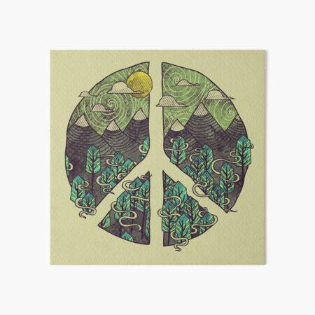 Peaceful Landscape Art Board Print