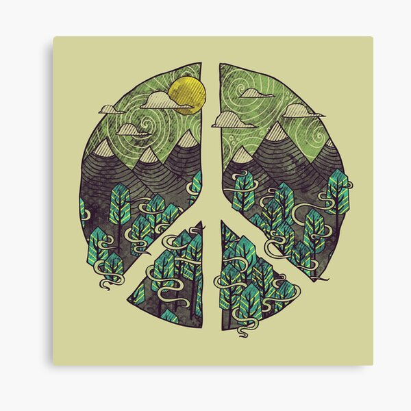 Peaceful Landscape Canvas Print