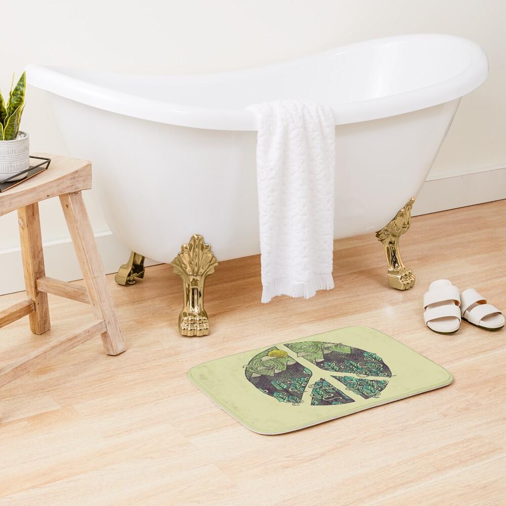 Peaceful Landscape Bath Mat
