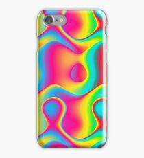 Colorful Abstract Swirl Pattern iPhone Case/Skin
