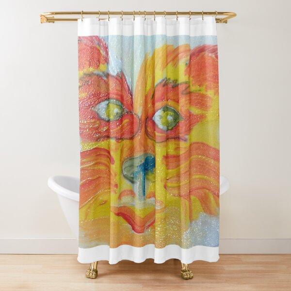 Firepaw Shower Curtain