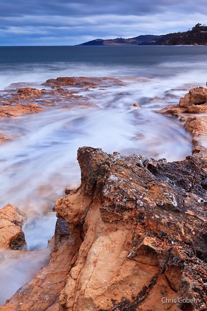 Blackmans Bay Rocks 2 by Chris Cobern