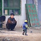 Ping Yao - Only one child. by Jean-Luc Rollier