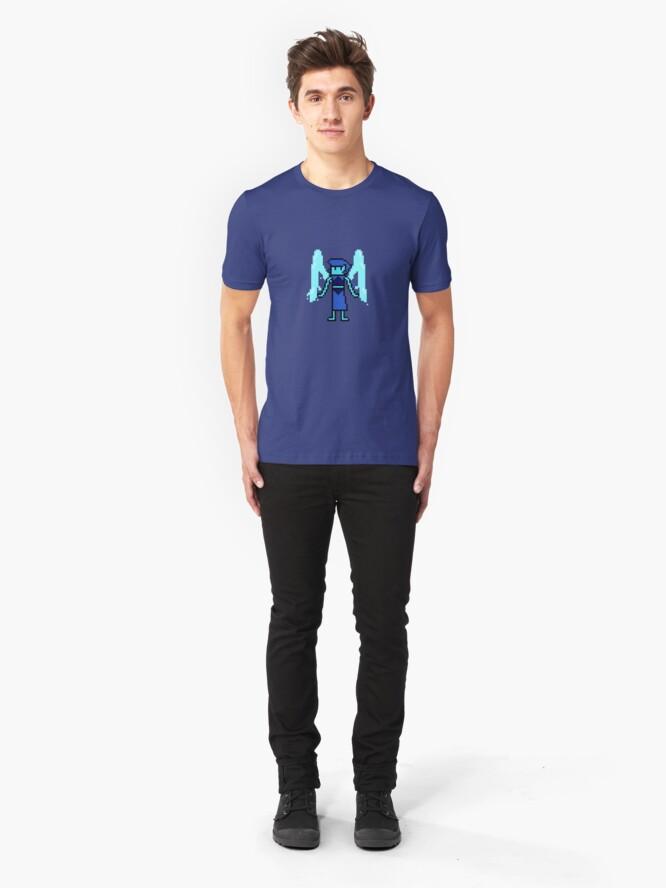 Alternate view of Pixel Steven Universe - Lapis Lazuli Slim Fit T-Shirt