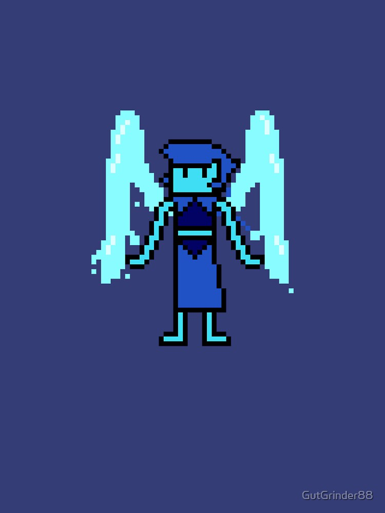 Pixel Steven Universe - Lapis Lazuli by GutGrinder88