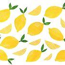 Cut + Paste Lemon Pattern by latheandquill