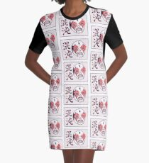 CHAOS Lucha Graphic T-Shirt Dress