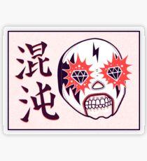 CHAOS Lucha Transparent Sticker