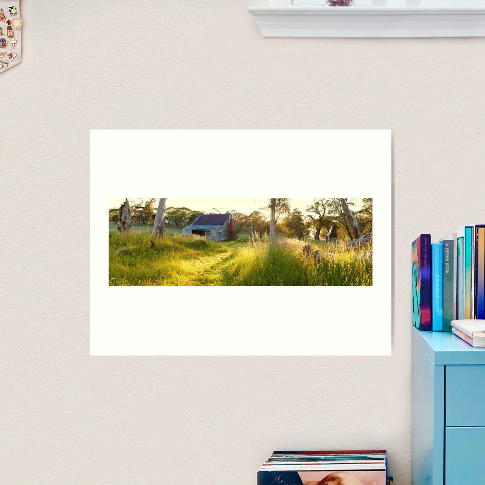 Gooandra Homestead, Kosciuszko, New South Wales, Australia Art Print