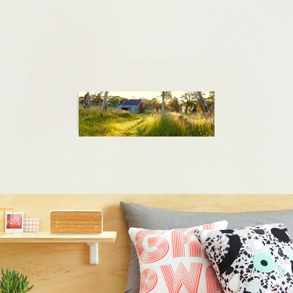 Gooandra Homestead, Kosciuszko, New South Wales, Australia Photographic Print