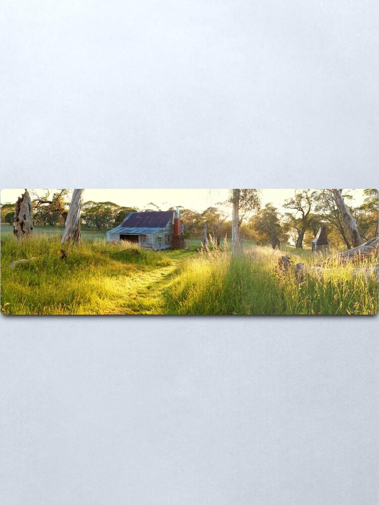 Alternate view of Gooandra Homestead, Kosciuszko, New South Wales, Australia Metal Print