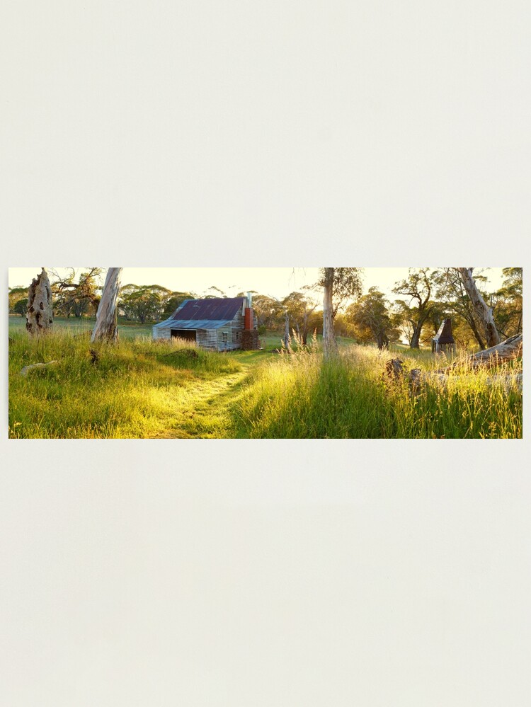 Alternate view of Gooandra Homestead, Kosciuszko, New South Wales, Australia Photographic Print