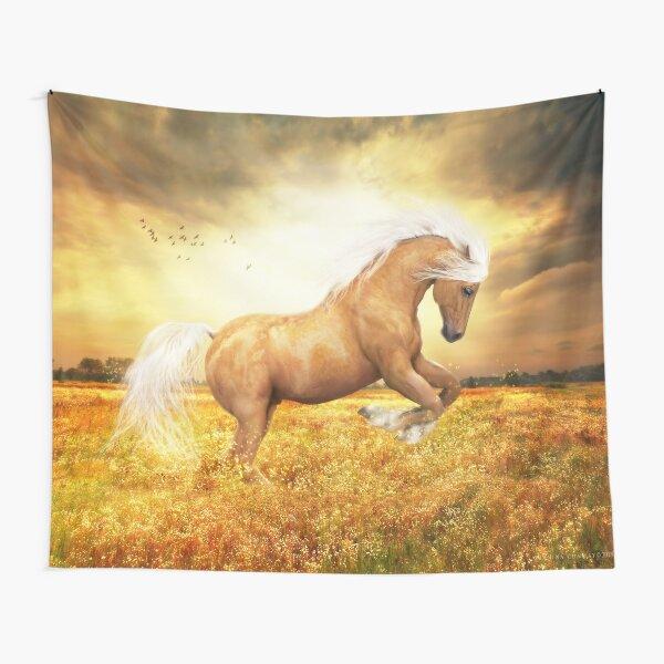 Palomino Horse Sundance Tapestry