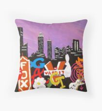 The World I Know Throw Pillow
