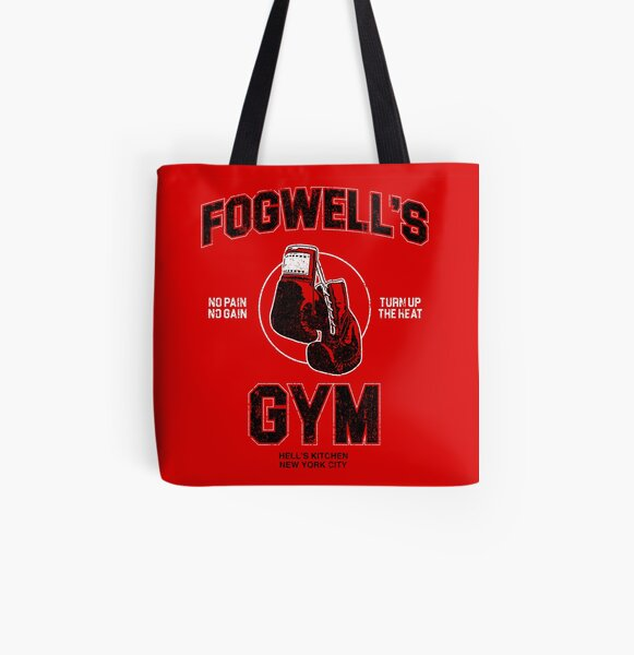 Fogwell's Gym (Variant) All Over Print Tote Bag