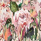 Melting Painted Roses by Mautner Design by mautnerdesign