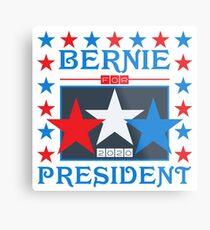 Bernie for President 2020 Stars Metal Print