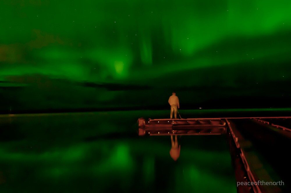 Steve...The Aurora Chaser by peaceofthenorth