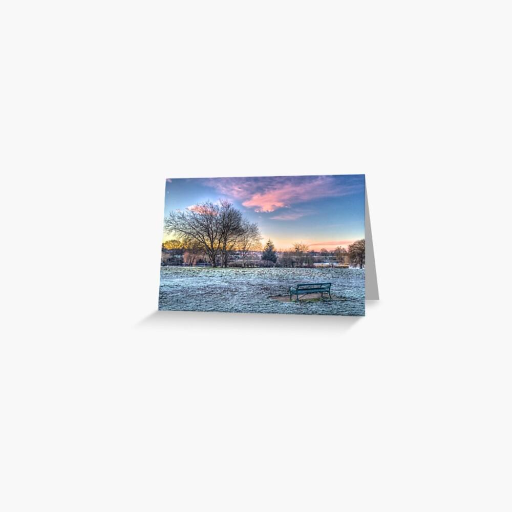 Harrowlodge Park HDR 01 Greeting Card