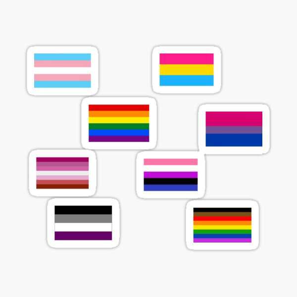 LGBT Flag Collection Sticker Pack Sticker