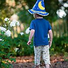 Young wizard by Eyal Nahmias