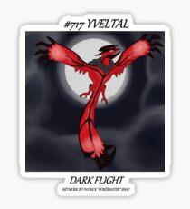 Yveltal: Dark Flight Sticker