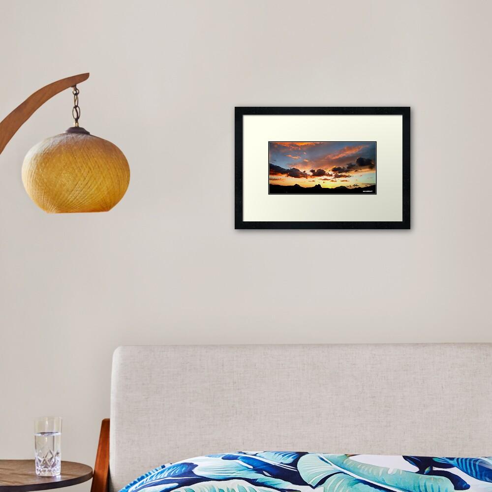 An Assynt Sunrise Framed Art Print