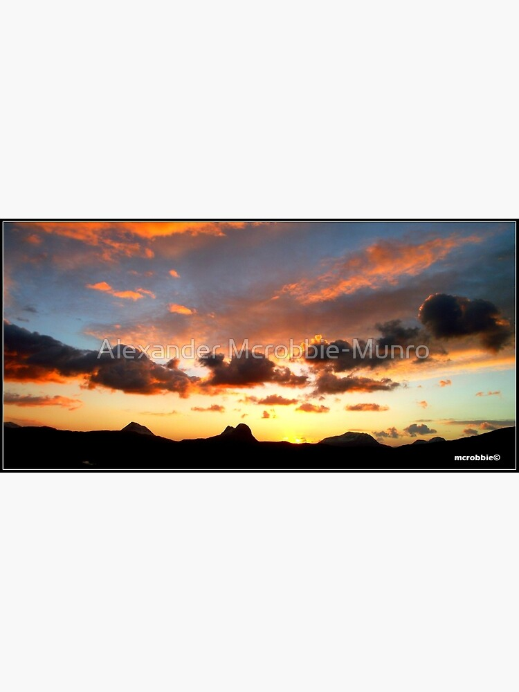 An Assynt Sunrise by Alexanderargyll