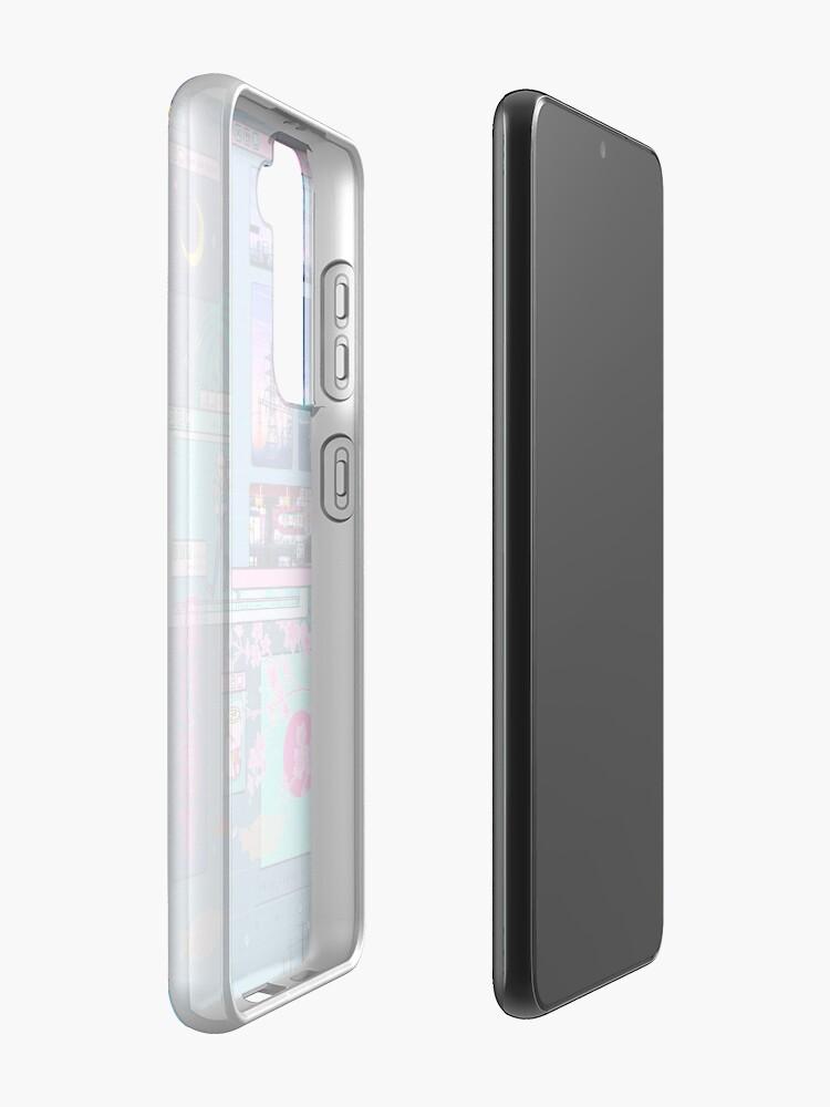 Alternate view of SeerLight desktop night Case & Skin for Samsung Galaxy