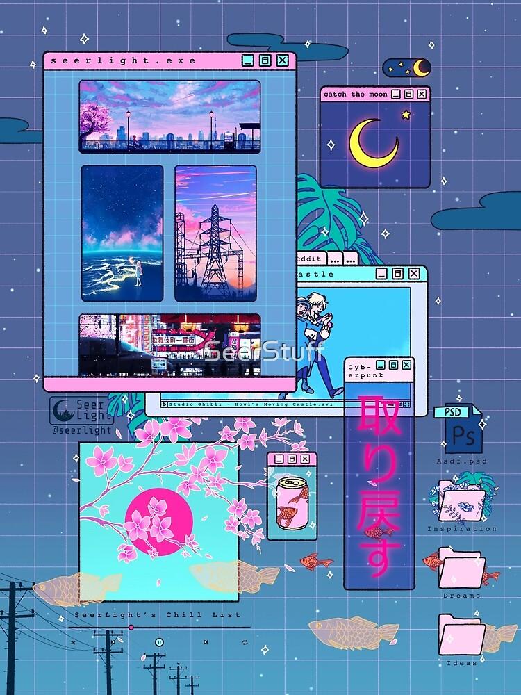 SeerLight desktop night by SeerStuff